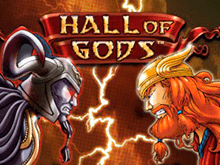 Виртуальный автомат онлайн Hall Of Gods